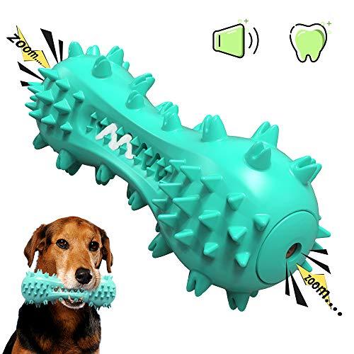 HTQ Juguete Masticable y Molar para Perros, Juguete Interactivo Perro, Caucho Natural, Seguro y Duradero, Compañía Excelente de Perros