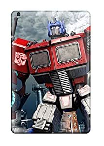 Slim Fit Tpu Protector Shock Absorbent Bumper Optimus Prime Fall Of Cybertron Case For Ipad Mini/mini 2