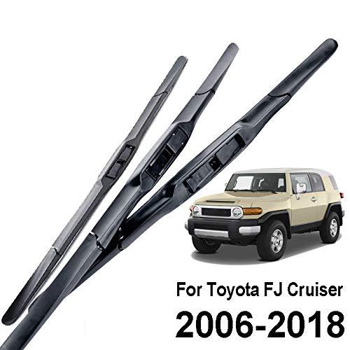 FidgetKute 3PCS/Set Front Windshield Wiper Blade Fit for Toyota FJ Cruiser 2006-2018 14
