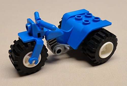 x1 NEW LEGO Quad Motorcycle Bikes FOR CITY MINIFIGS BLUE (Bike Lego Quad)