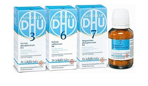 Dhu schüßler - de salze immun de Kur, 240ST: Amazon.es: Salud y cuidado personal