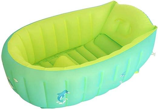 ZQY Mini Piscina Inflable Plegable Bañera para Bebés ...
