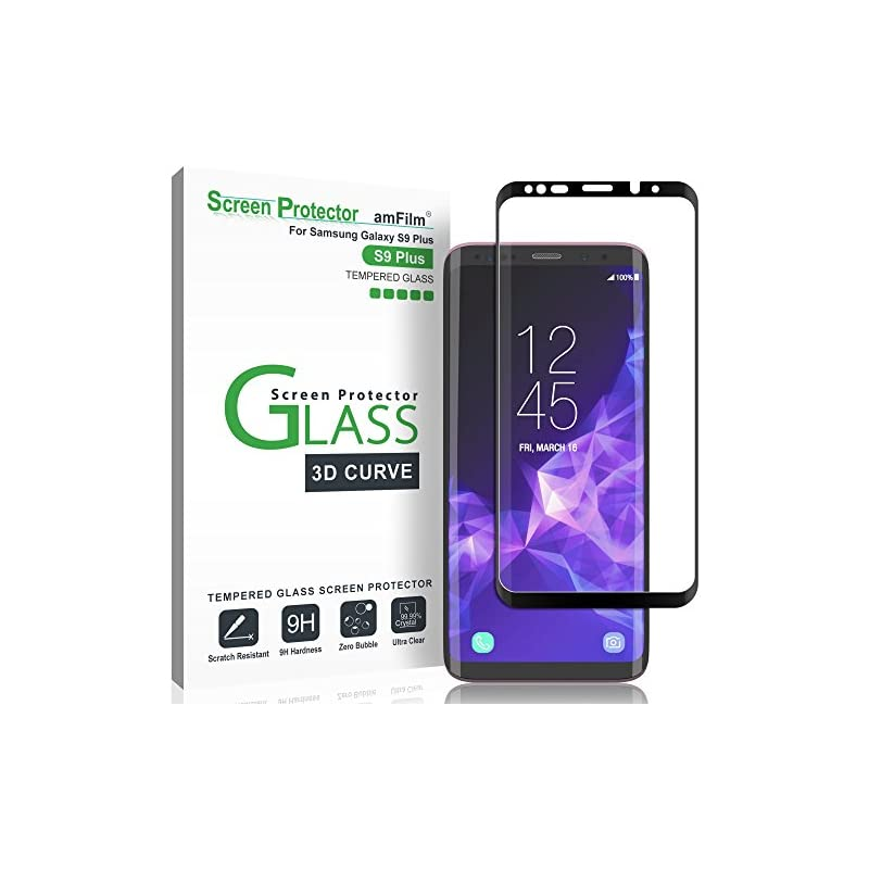 Galaxy S9 Plus Screen Protector Glass, a
