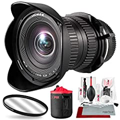 Get started in the world of wide-angle macro photography with the Laowa 15mm f/4 Macro Lens. Designed for Sony E-mount cameras, the lens offers true 1:1 magnification without the hassle of using extension tubes and other equipment. Photograph...