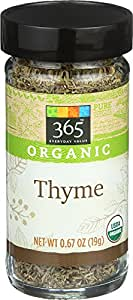 365 Everyday Value Organic Thyme, 0.67 oz