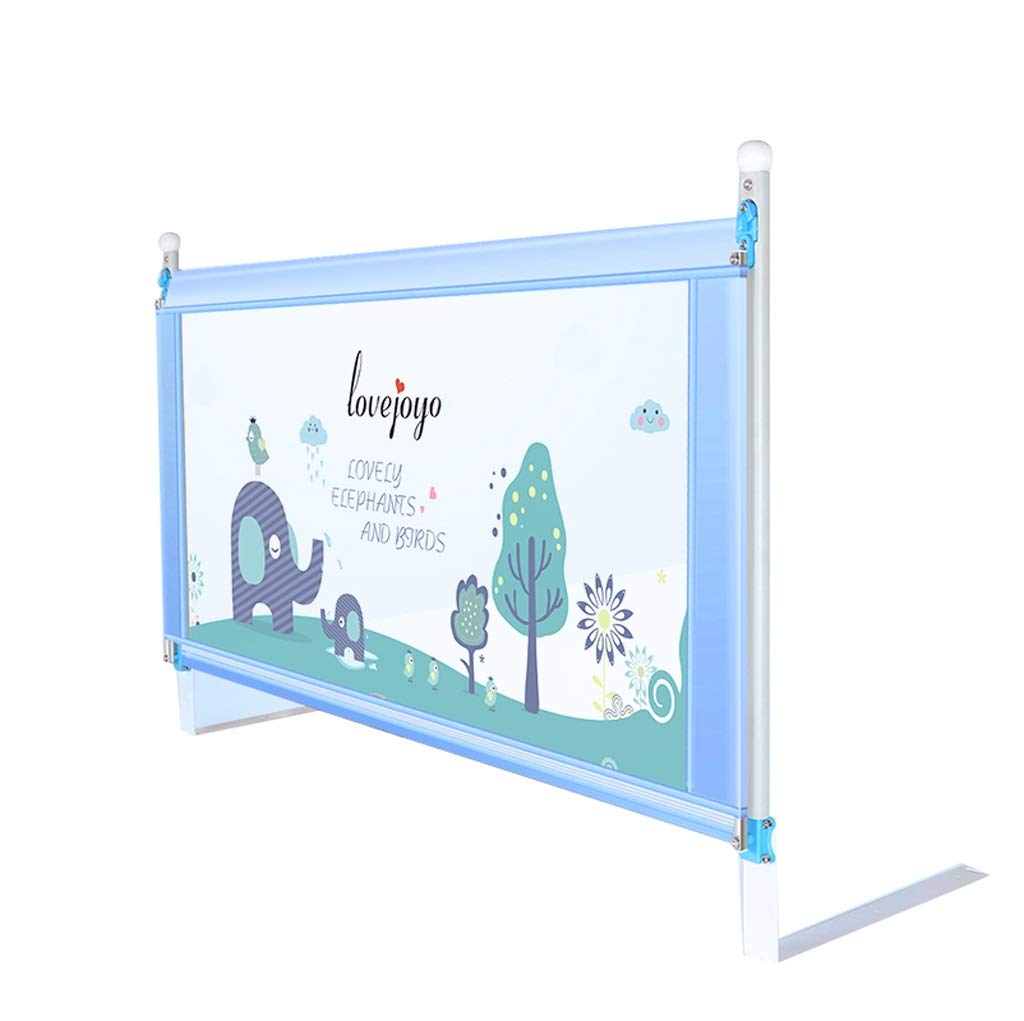 200cm Playpen Bed Guard Double Bed,Portable And Steady Bed Guard,Large Safety Bed Rail (color   200cm)
