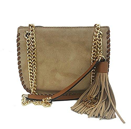 Michael Kors Whipped Chelsea Handbag DK Khaki - Handbag Chelsea Kors Michael