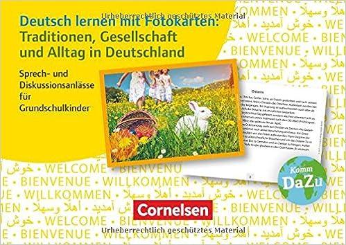 Deutsch lernen mit Fotokarten - Grundschule: Traditionen ...