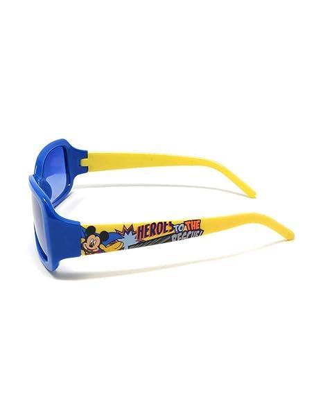 Mickey Mouse - Gafas de sol - para niño azul/amarillo Talla ...