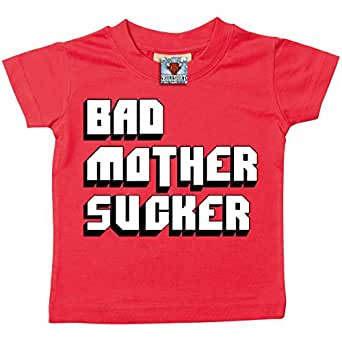 Amazon.com: Bullshirt Bad Mother Sucker Short Sleeve Baby/Toddler T-Shirt: Clothing