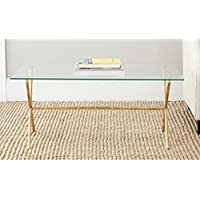 Safavieh Home Collection Brogen Gold Accent Table