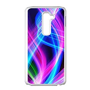 Aesthetic colorful lighting fashion phone case for LG G2