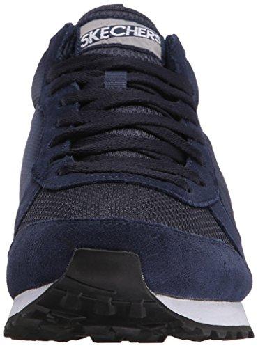 Skechers Og 85, Men's Low-Top Sneakers Navy/Gray