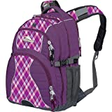 High Sierra Swerve Backpack, Amethyst/ Purple Argyle/ Charc