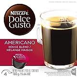 Nescafe Dolce Gusto Caffe Americano 16 capsules 3-Pack
