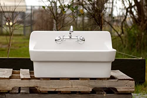 Amazon.com: Vintage Style High Back Farm Sink Original