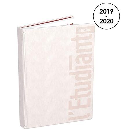 LÉTUDIANT Pastel Agenda diaria 2019 - 2020 de agosto a ...