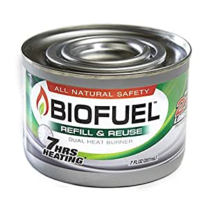 BioFuel Reusable Burner Can