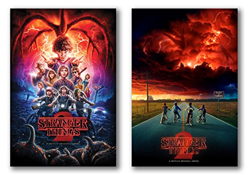 Stranger Things Season 2 Posters Set