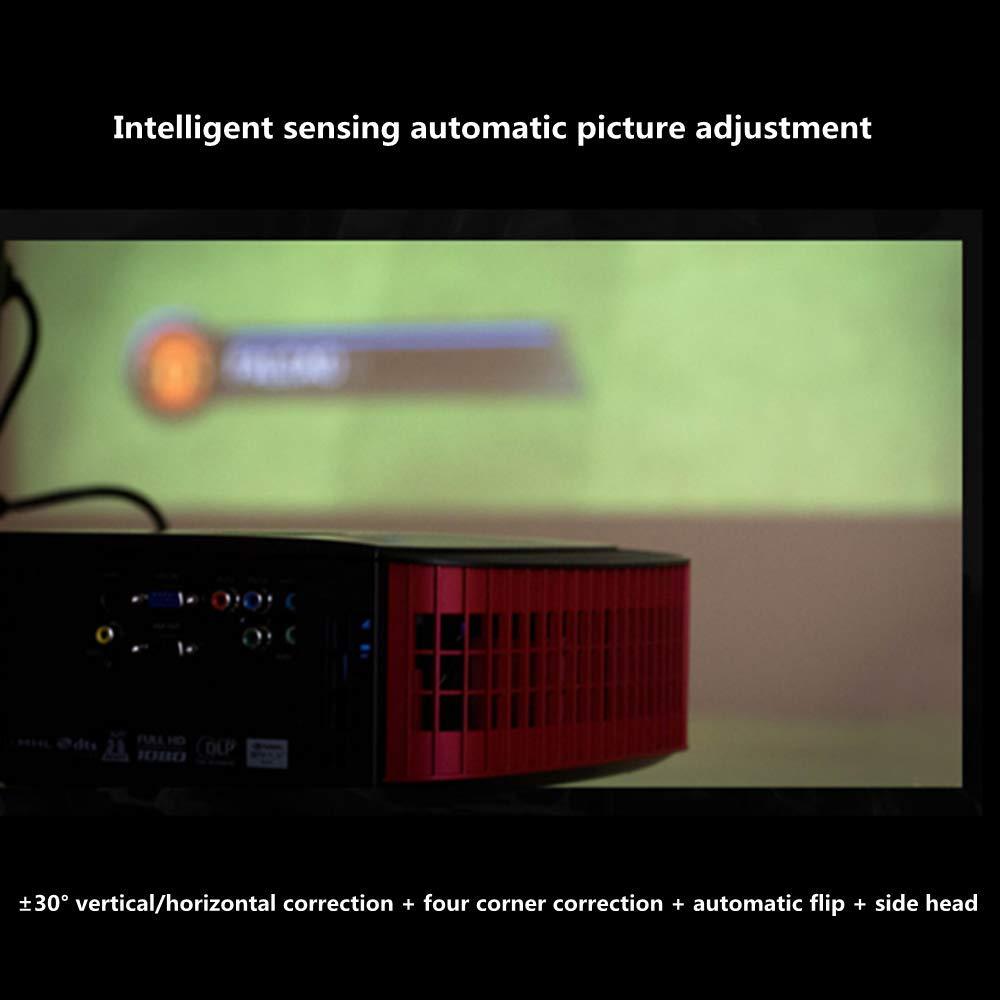 Uncle tribe Proyector proyector de Tiro Corto Home proyector ...