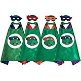 OscarNOtis TMNT Cape and Mask Set Dress Up Costume