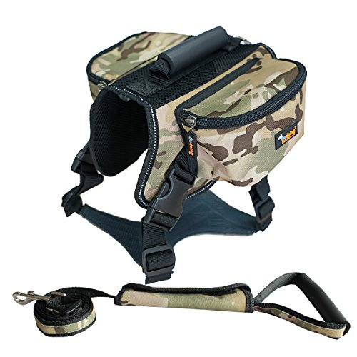 xl dog harness backpack - 7