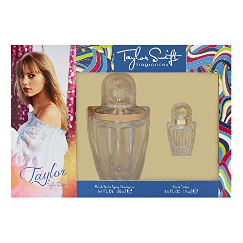 Taylor by Taylor Swift for Women 2 Piece Set Includes 3.4 oz Eau de Parfum Spray 0.25 oz Parfum Collectible