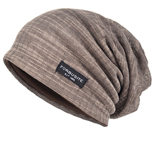 Men Cool Slouch Beanie Thin Summer Skull Cap Long Baggy Hip-hop Cap B018h