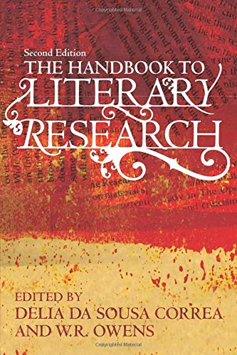 Book cover from The Handbook to Literary Research by August Clearwing