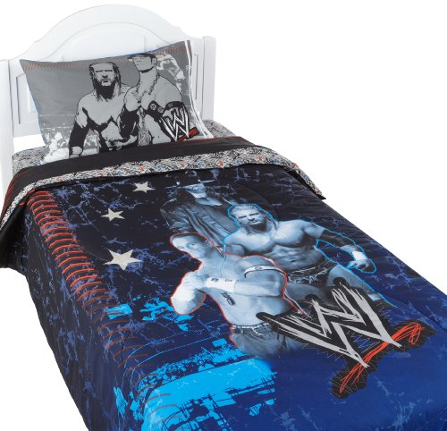 WWE Ringside Twin Comforter. WWE Bedding   Bedroom Decor