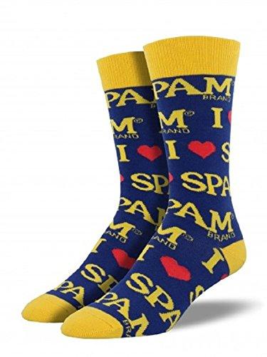 socksmith-mens-novelty-crew-socks-spam-1-pair-spam-blue
