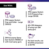 3M PPS Paint Spray Gun Cup Lids and Liners