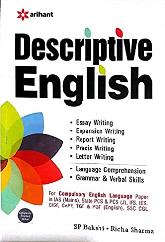 buy descriptive english book online at low prices in india rh amazon in Arihant Slide Arihant Books