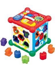 日亚:Toyroyal 新六面盒 多功能数字屋 形状配对玩具 特价2267日元(约¥141,不含运费)
