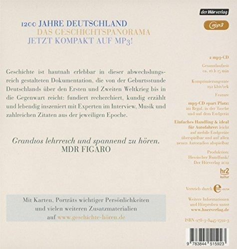 Unterwegs in der Geschichte Deutschlands: von 800 bis heute: Amazon ...