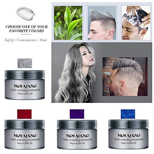 Fashion Hair Coloring Material Styling One-Time Hair Wax Disposable Hair Dye Mud Easy To Wash Plants Component (Best Diy Hair Dye Australia)
