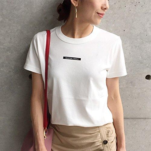 シャックル直接ピル(アクアガール) aquagirl 【WEB限定】beautiful people ロゴTシャツ 02815887