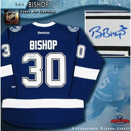 Amazon.com  Ben Bishop Autographed Jersey - Blue Reebok - Autographed NHL  Jerseys  Sports Collectibles da1bc0e63