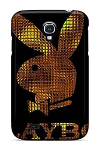New Premium PxiNcoE336yPeUD Case Cover For Galaxy S4/ Gold Playboy Logo Protective Case Cover