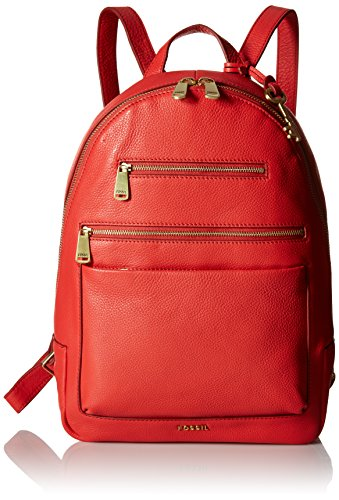Fossil Women's Piper Backpack, Tomato