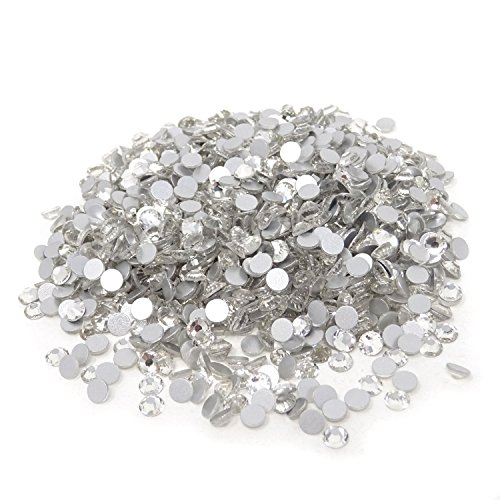 (Honbay 1440PCS Sparkly Clear Crystal Flat Back Round Rhinestones (4mm,ss16))