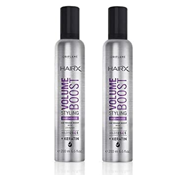 Buy Oriflame Sweden Two Hairx Volume Boost Styling Hair Mousse Hair Styler 200 Ml Online At Low Prices In India Amazon In