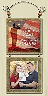 "product image for Imagine Design 4.5""x9.5"" Patriotic Proud Photo Frame, 4.5"" x 9.5"""