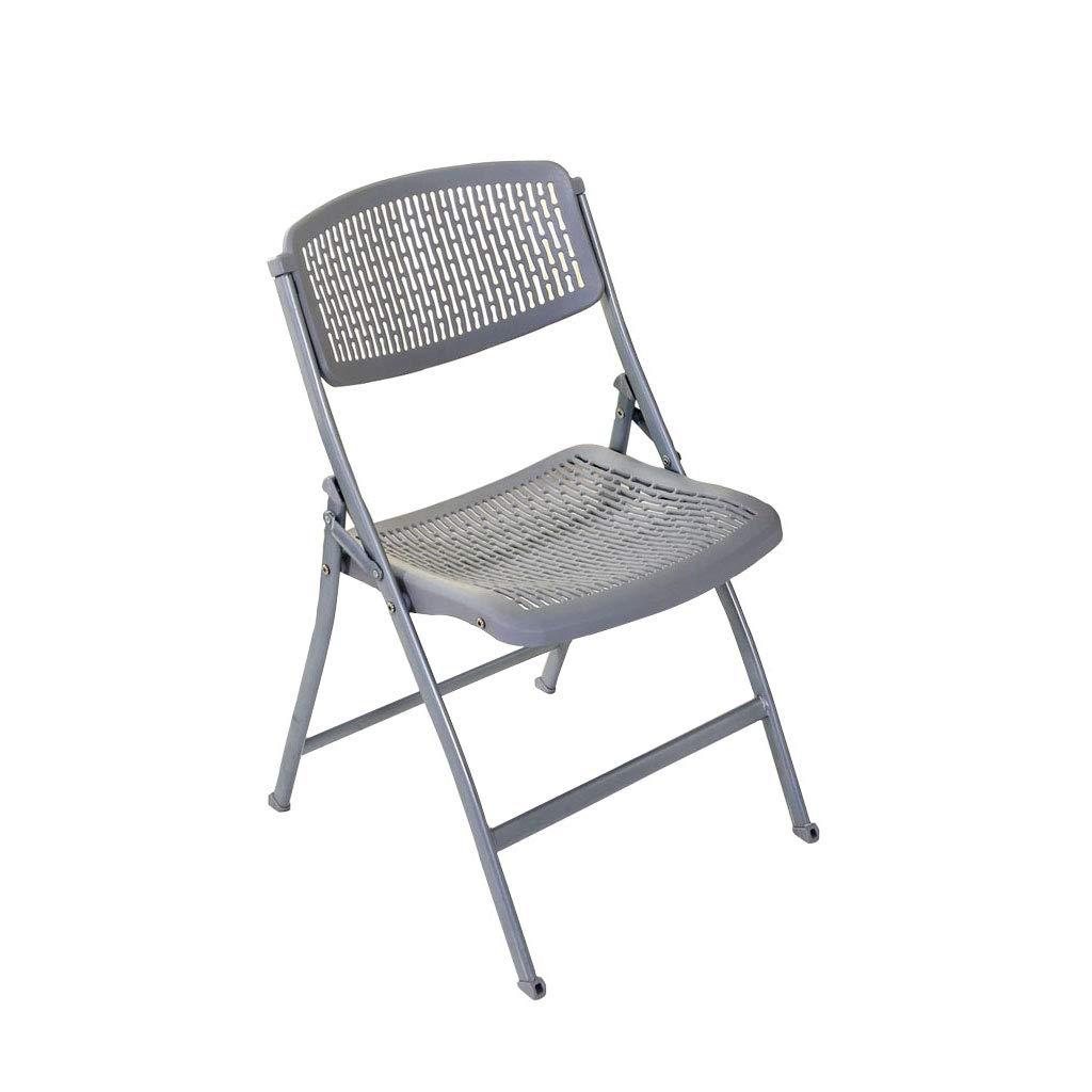 KAI LE Tragbarer und einfacher belüfteter Computer-Büro-Ausgangsstuhl, faltender Schemel, Klappstuhl-beweglicher justierbarer Stuhl