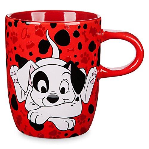 Disney Store 101 Dalmatians Patch Mug Red 2018 (Dalmatian Mug)