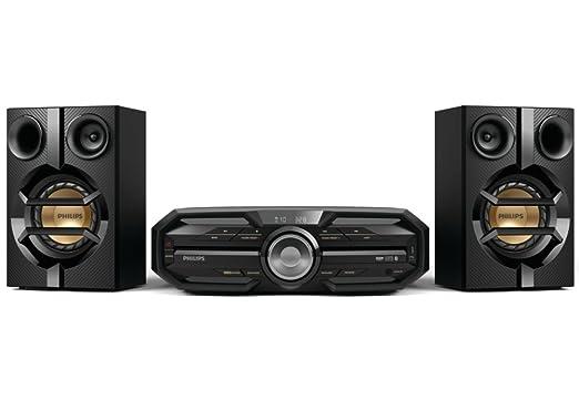 14 opinioni per Philips FX15 Sistema Mini Hi-Fi 180 W con Bluetooth, Nero