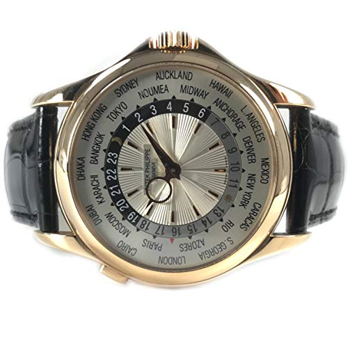 - Patek Philippe World Time 18KT Rose Gold 5130R - Certified-Pre-Owned