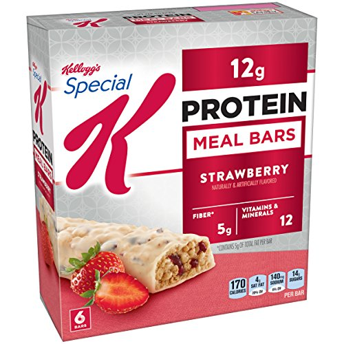 Special K Protein Meal Bar, Strawberry, 6 Count 1.59 Oz. Bars (Pack Of 3)