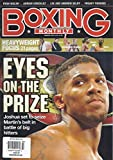 Boxing Monthly (March 2016 - Cover: Anthony Joshua)