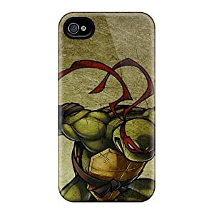 Bumper Hard Phone Covers For Iphone 6plus With Customized Realistic Ninja Turtles Pattern ErleneRobinson